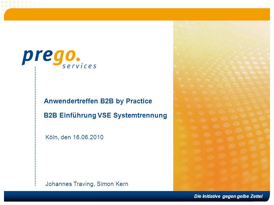 Anwendertreffen B2B by Practice