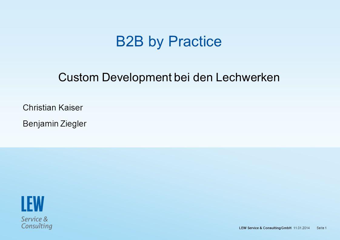 Custom Development bei den Lechwerken