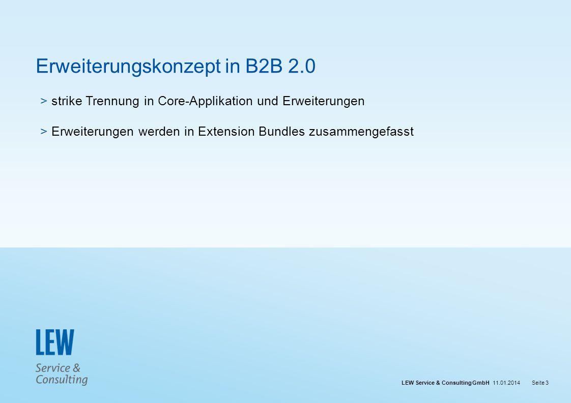 Erweiterungskonzept in B2B 2.0