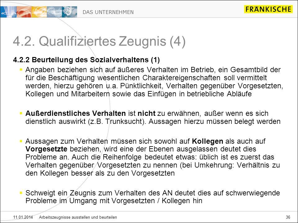 4.2. Qualifiziertes Zeugnis (4)