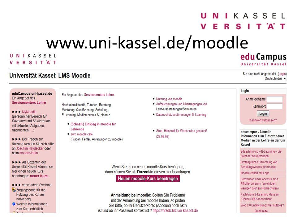 www.uni-kassel.de/moodle