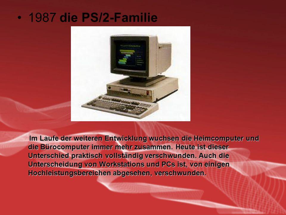 1987 die PS/2-Familie