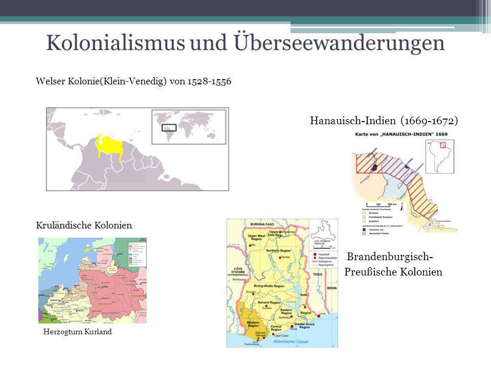 Kolonialismus und Überseewanderungen