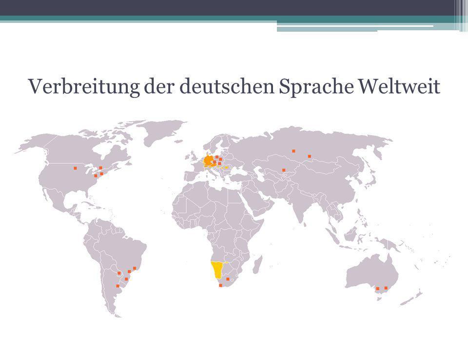 deutsche sprache in deutschland und in der welt ppt