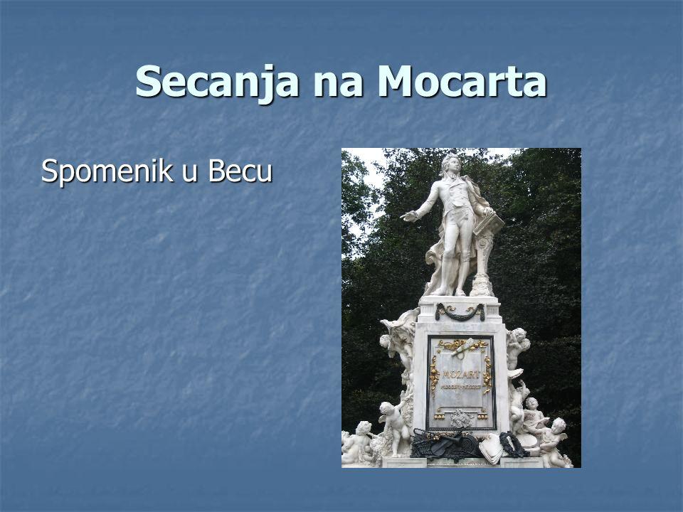 Secanja na Mocarta Spomenik u Becu