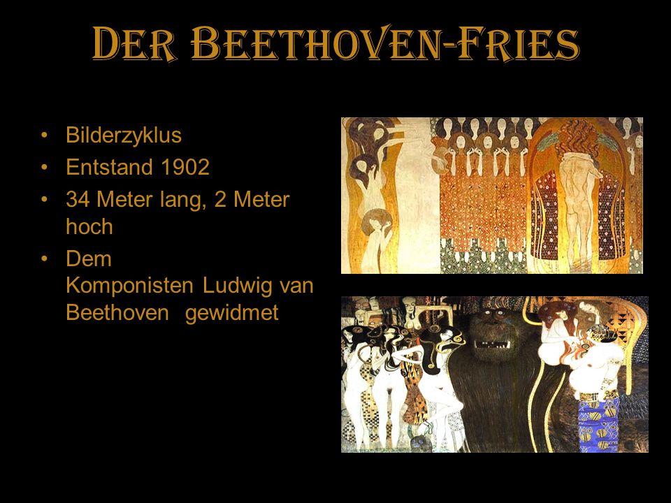 Der Beethoven-fries Bilderzyklus Entstand 1902