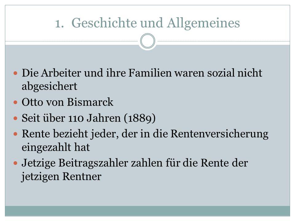 Geschichte und Allgemeines
