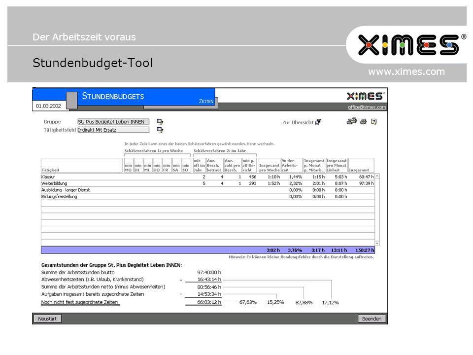 Stundenbudget-Tool