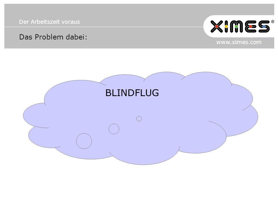 Das Problem dabei: BLINDFLUG