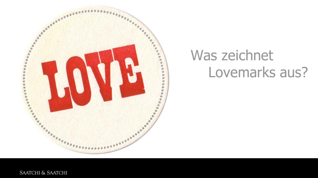 Was zeichnet Lovemarks aus