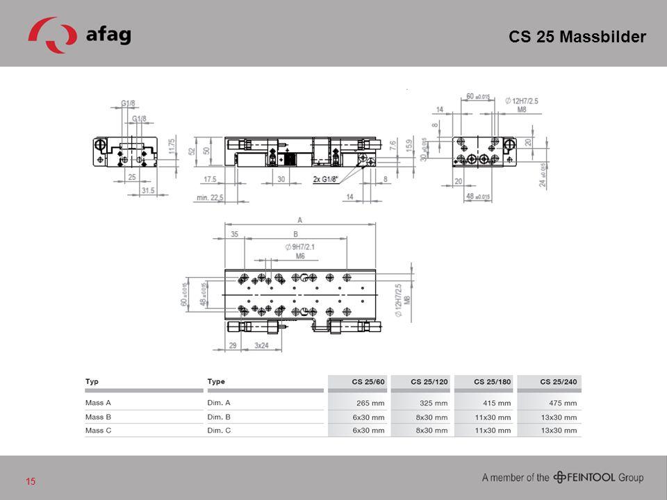 CS 25 Massbilder