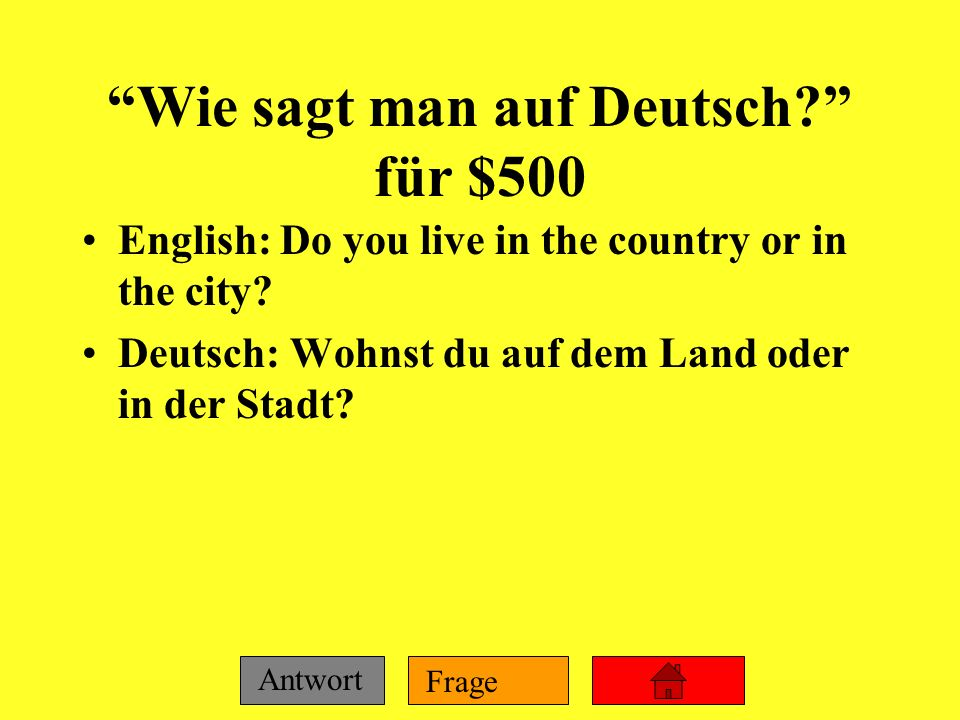 Wie sagt man auf Deutsch für $500
