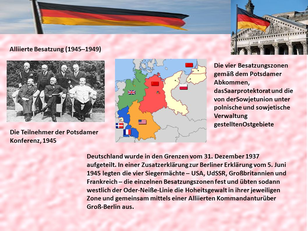 Alliierte Besatzung (1945–1949)