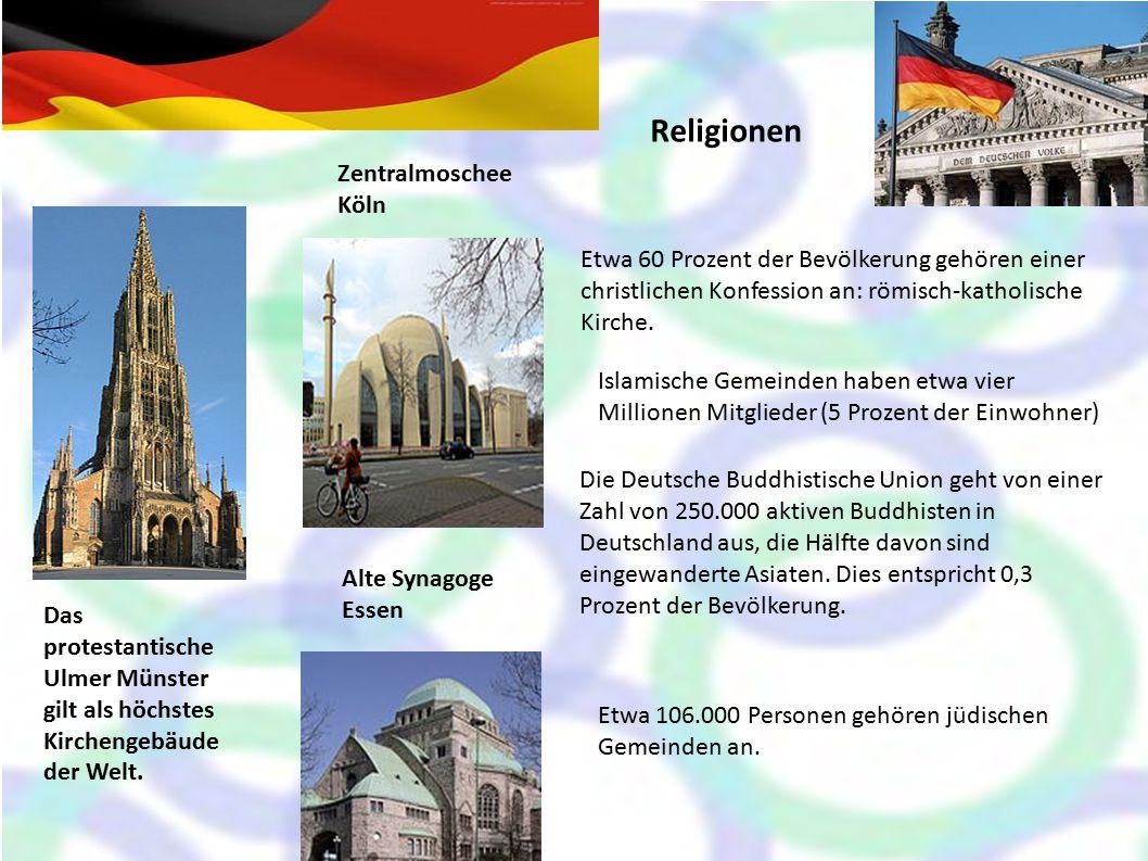 Religionen Zentralmoschee Köln