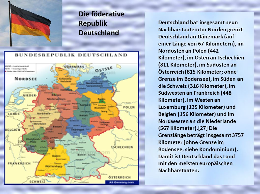 Die föderative Republik Deutschland