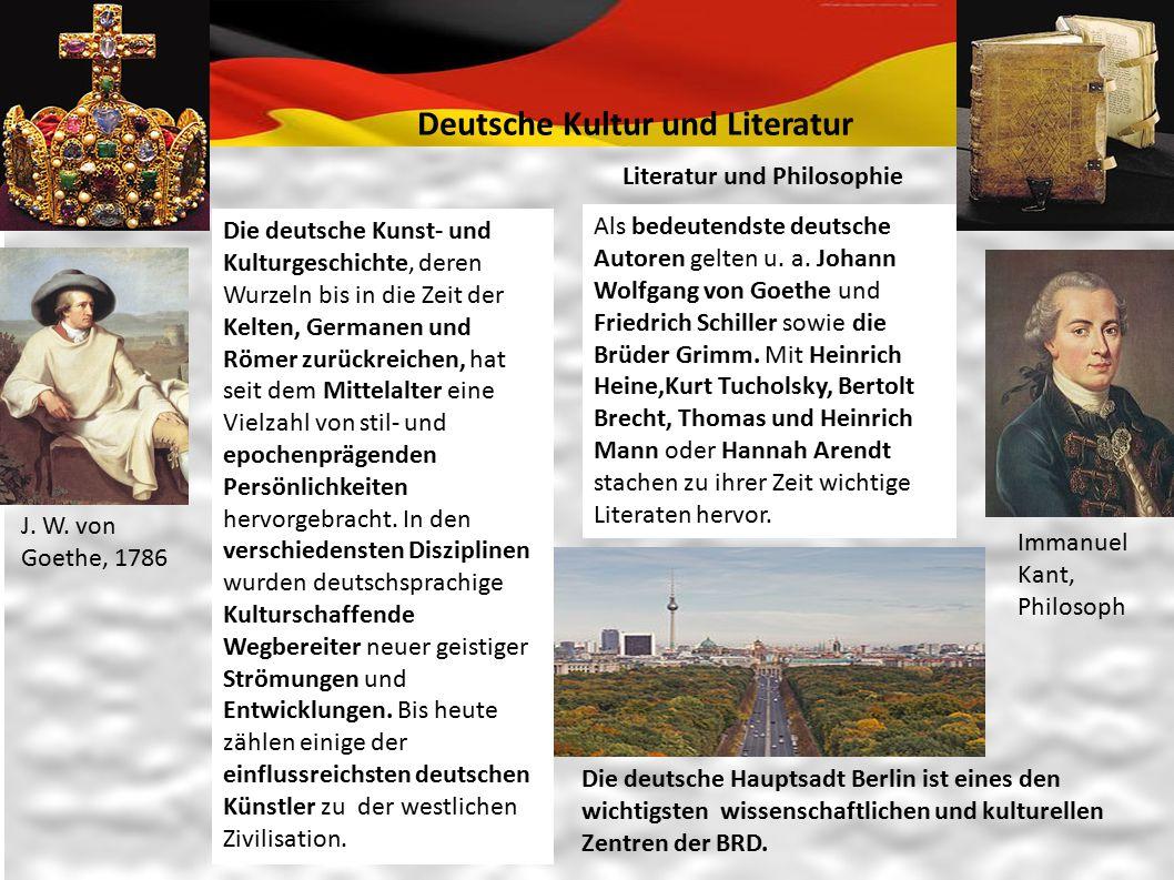 Deutsche Kultur und Literatur