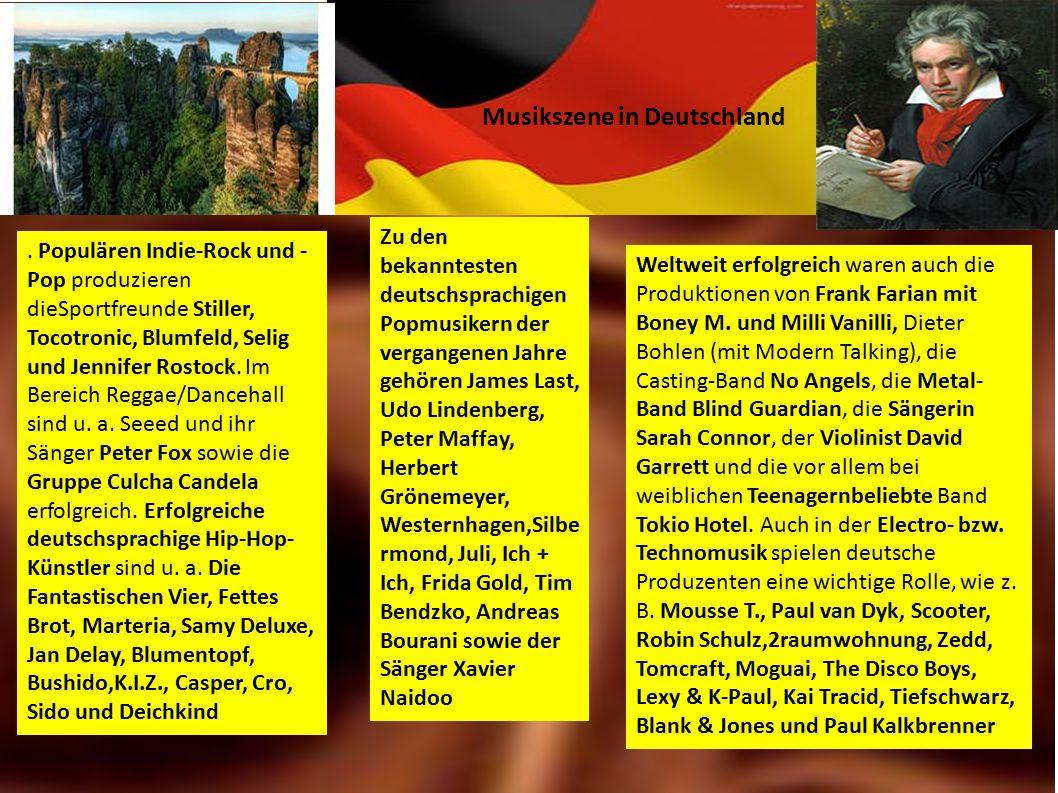 Musikszene in Deutschland