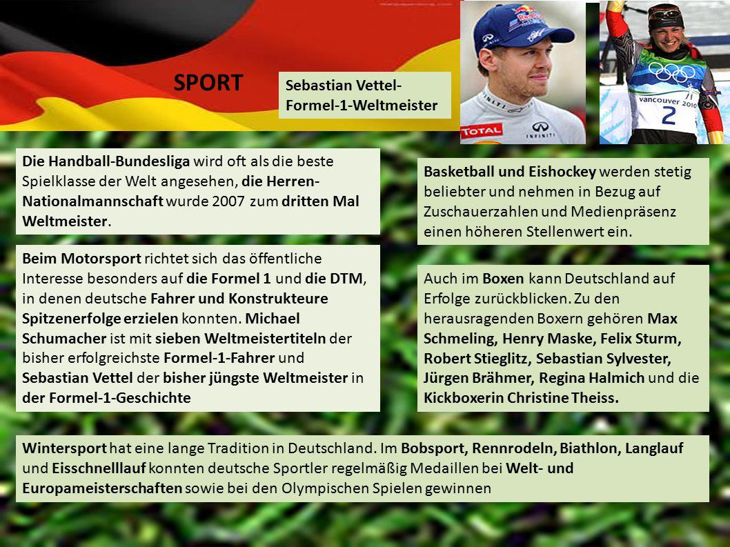 SPORT Sebastian Vettel-Formel-1-Weltmeister