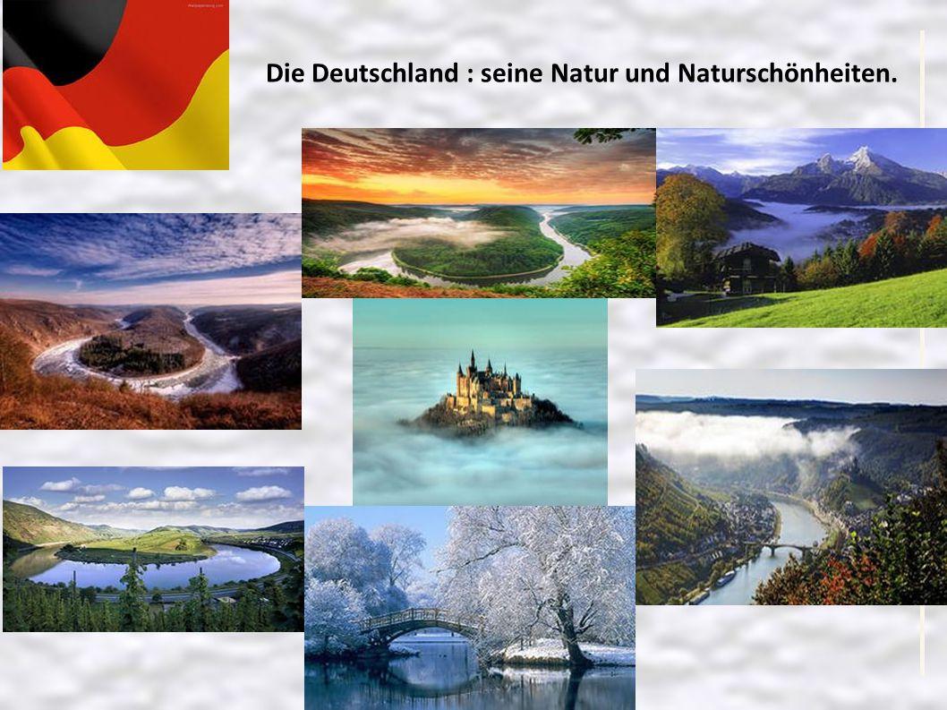 Die Deutschland : seine Natur und Naturschönheiten.