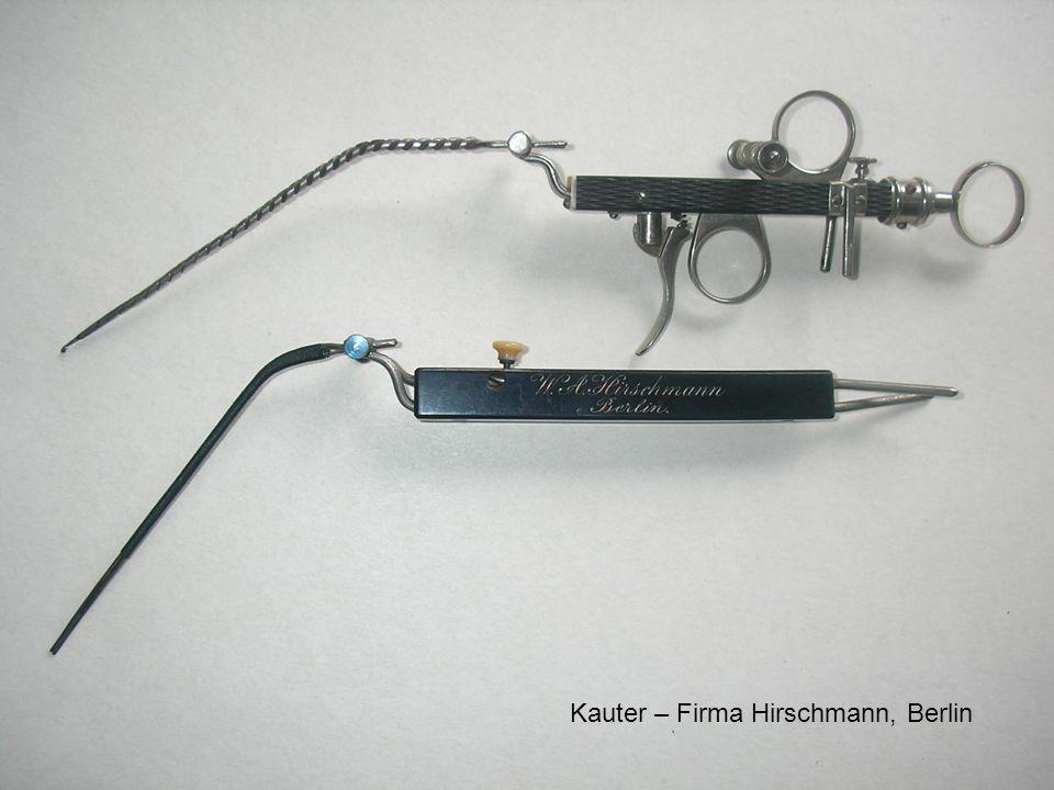 Kauter – Firma Hirschmann, Berlin