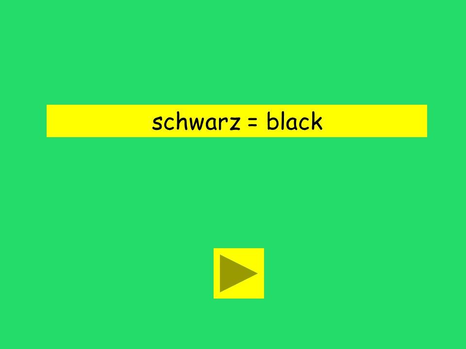 schwarz = black