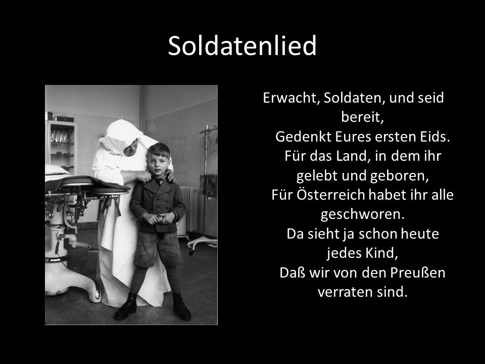 Soldatenlied