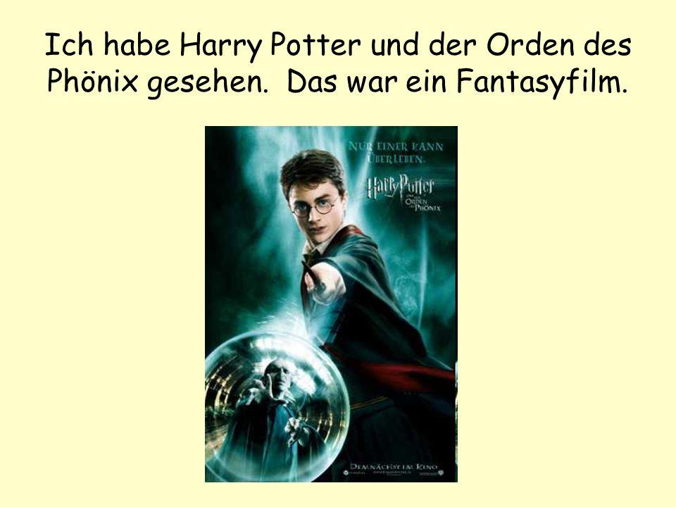Ich habe Harry Potter und der Orden des Phönix gesehen