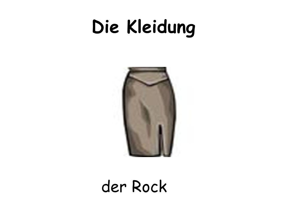 Die Kleidung der Rock