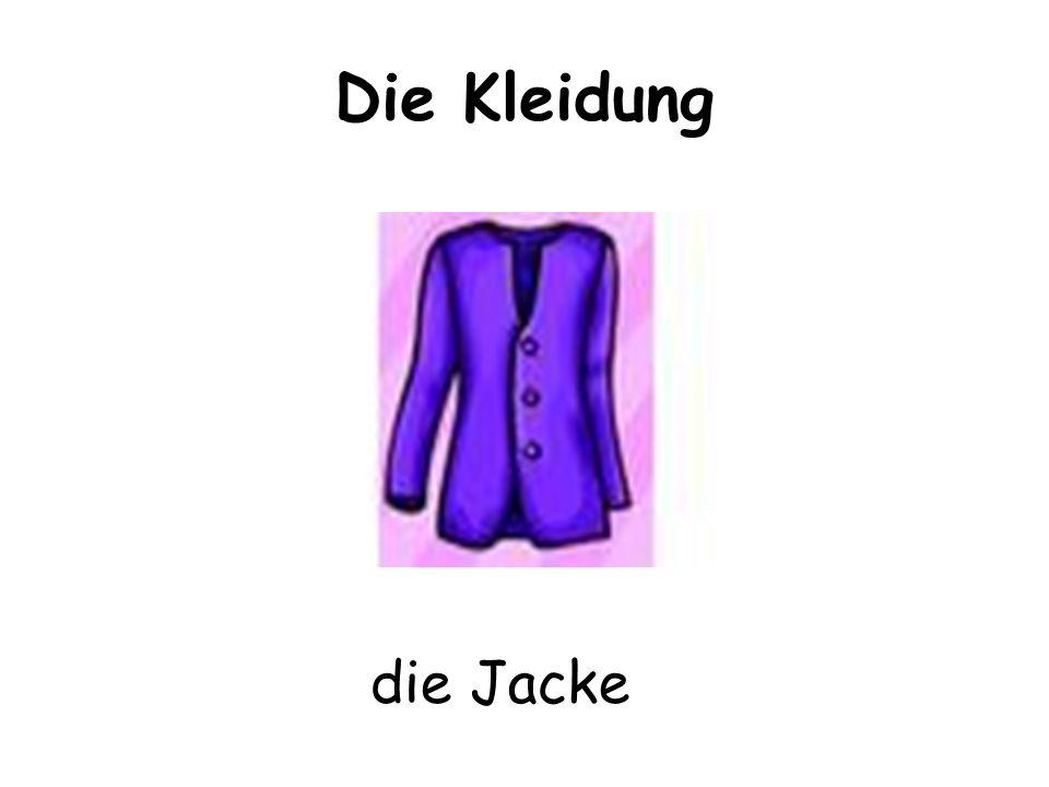 Die Kleidung die Jacke