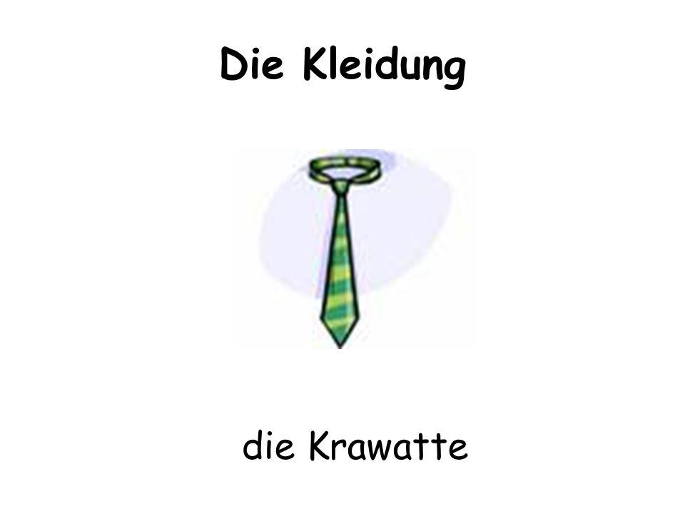 Die Kleidung die Krawatte