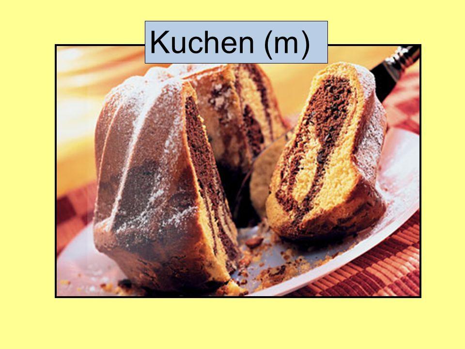 Kuchen (m)