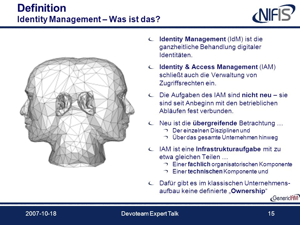 Definition Identity Management – Was ist das