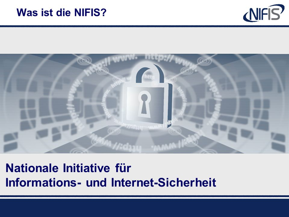 Nationale Initiative für Informations- und Internet-Sicherheit