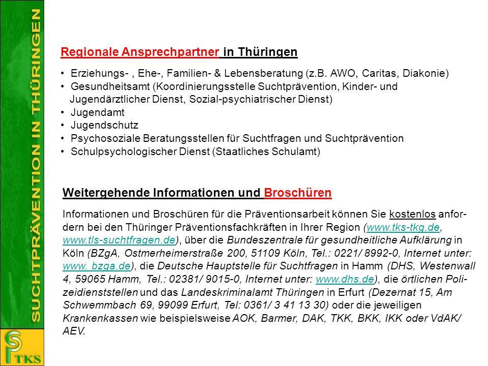 Regionale Ansprechpartner in Thüringen
