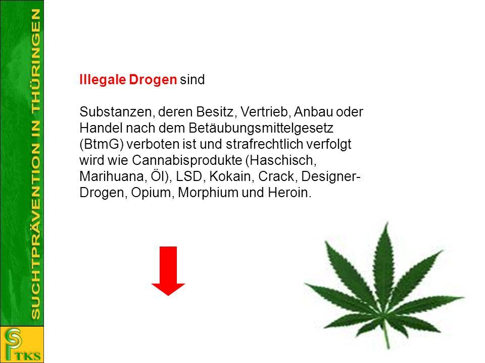 Illegale Drogen sind