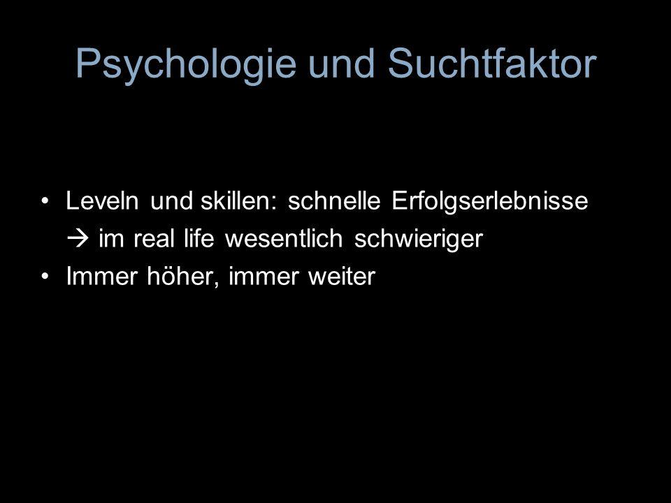Psychologie und Suchtfaktor