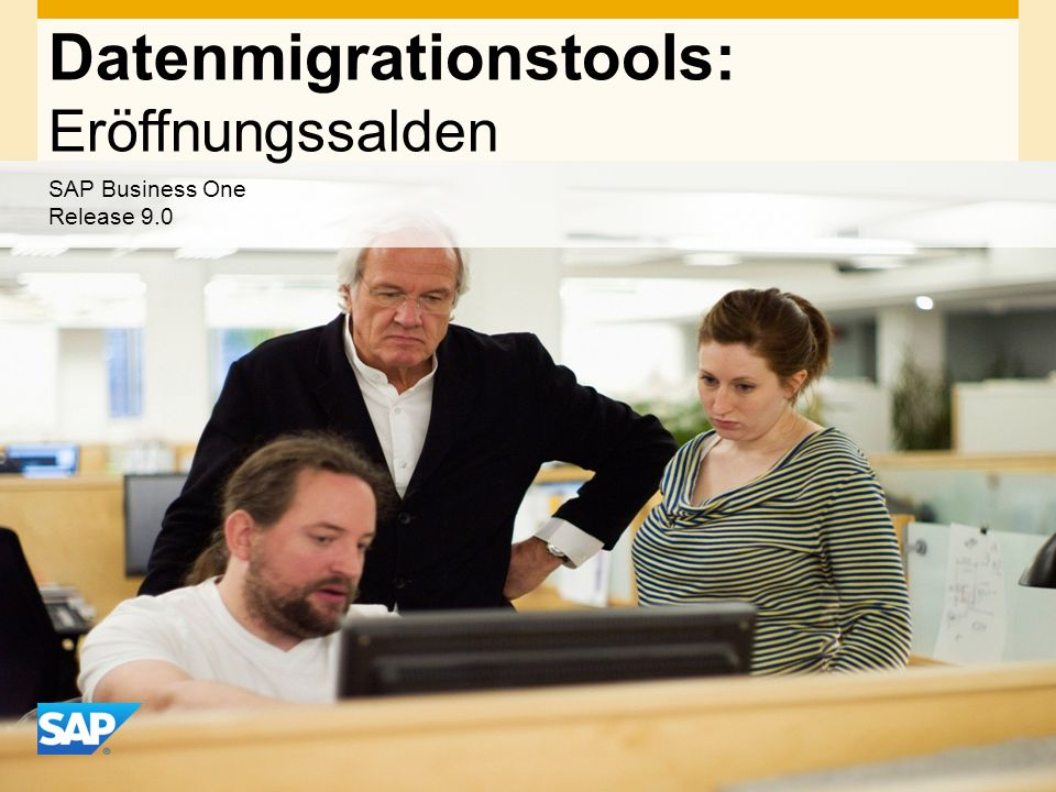 Datenmigrationstools: Eröffnungssalden
