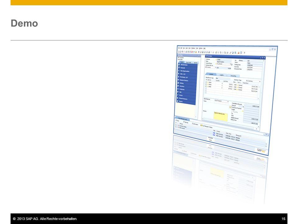 Demo In dieser Demo sehen Sie, wie Geschäftspartnersalden mit der Eröffnungssaldentransaktion in SAP Business One importiert werden.