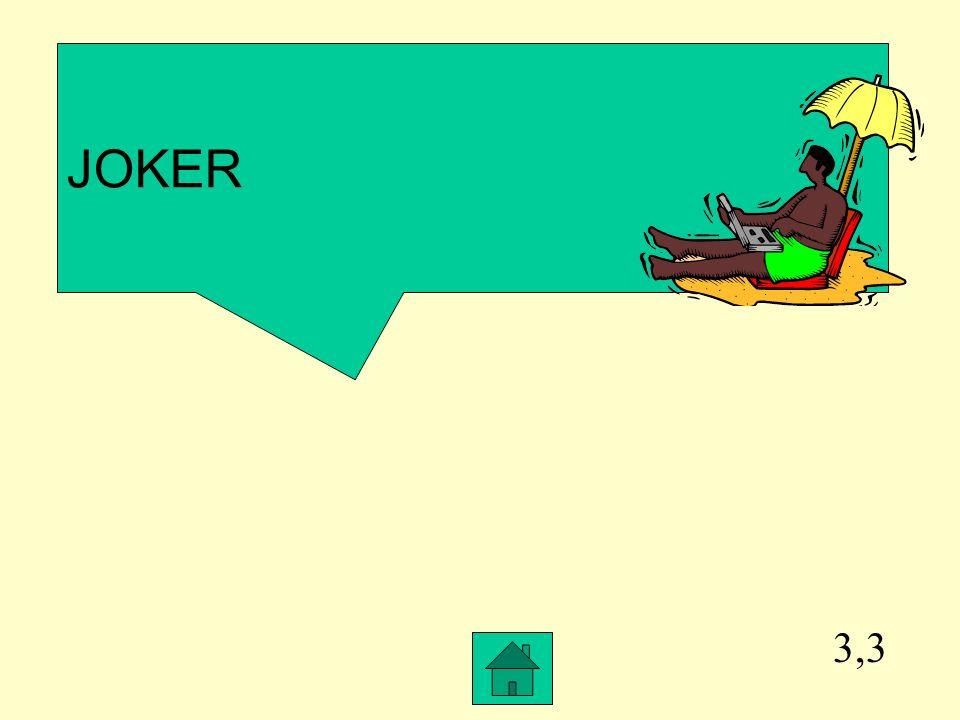 JOKER 3,3
