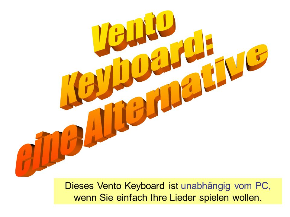 Vento Keyboard: eine Alternative