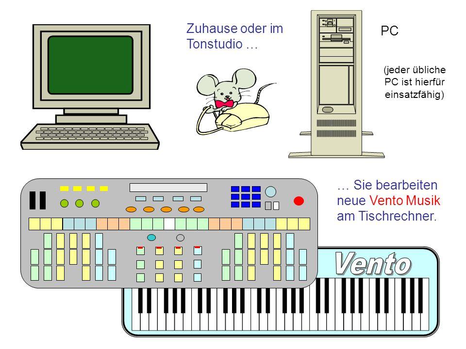 (jeder übliche PC ist hierfür einsatzfähig)