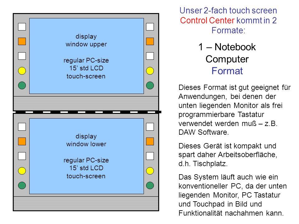 1 – Notebook Computer Format