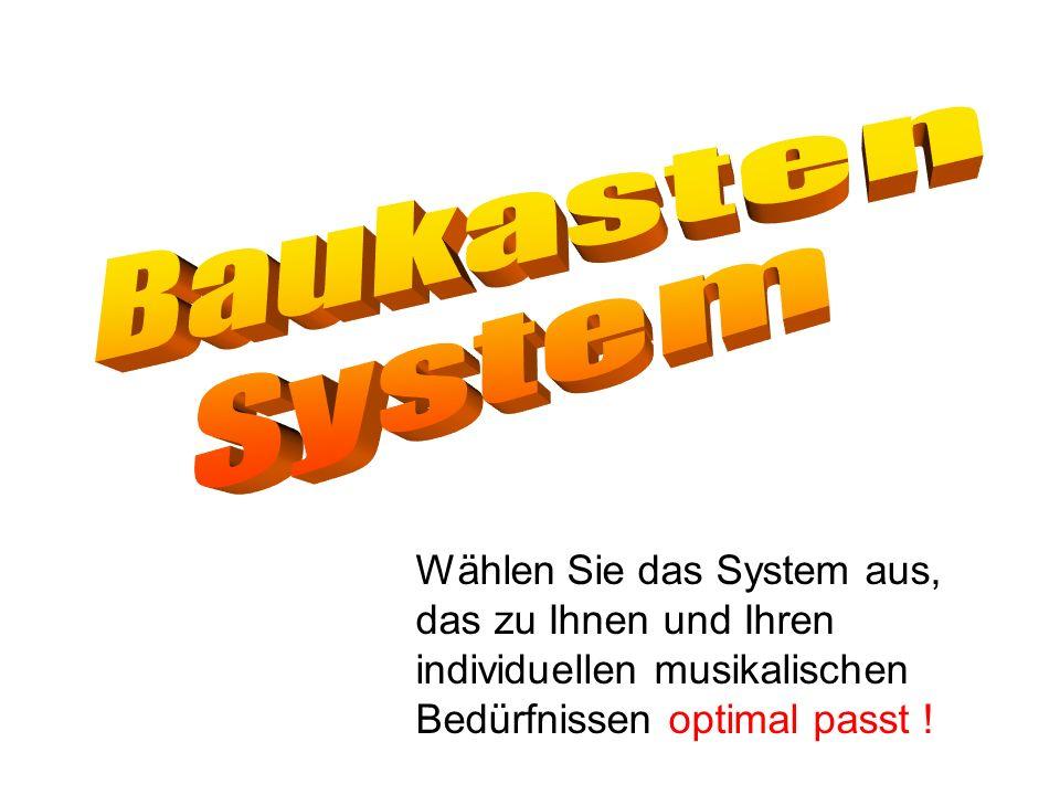 Baukasten System.