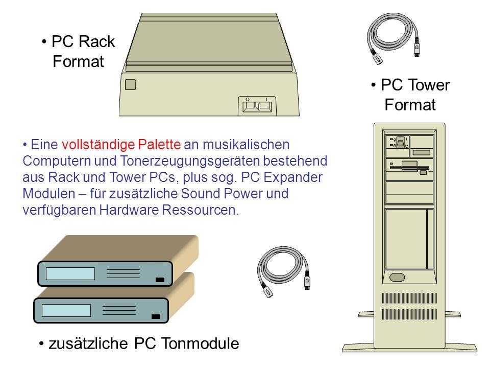 zusätzliche PC Tonmodule