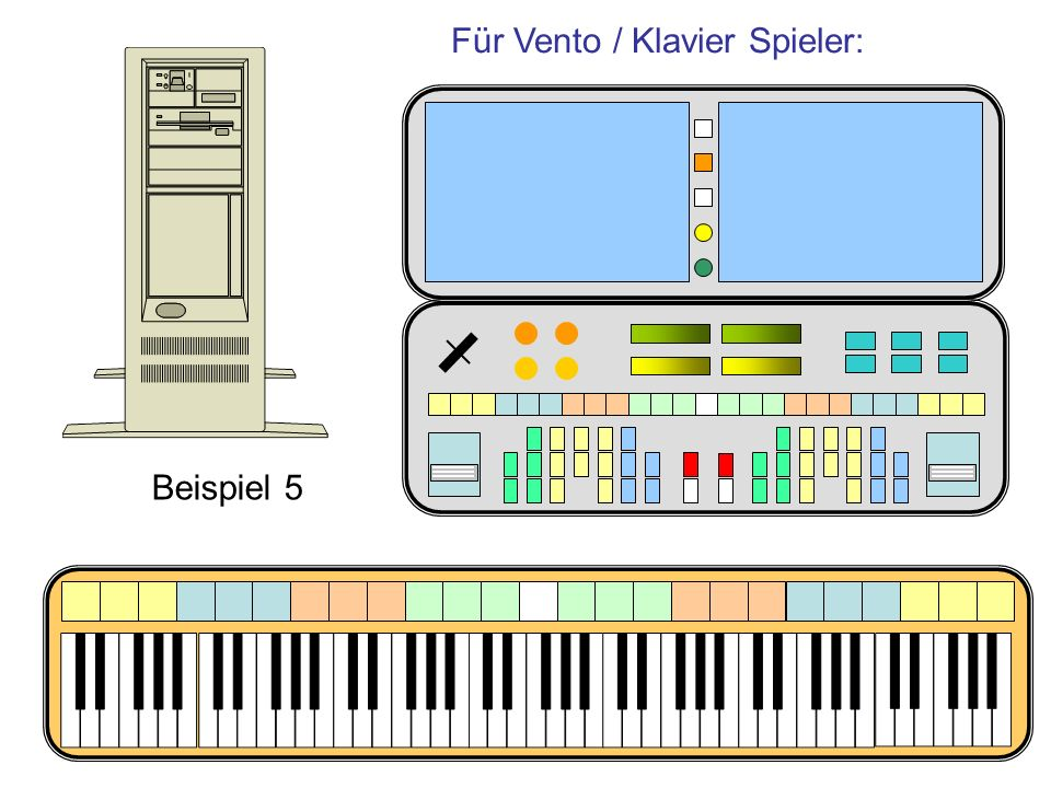 Für Vento / Klavier Spieler: