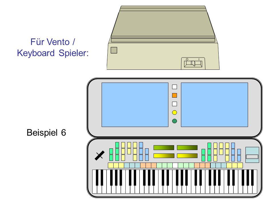 Für Vento / Keyboard Spieler: