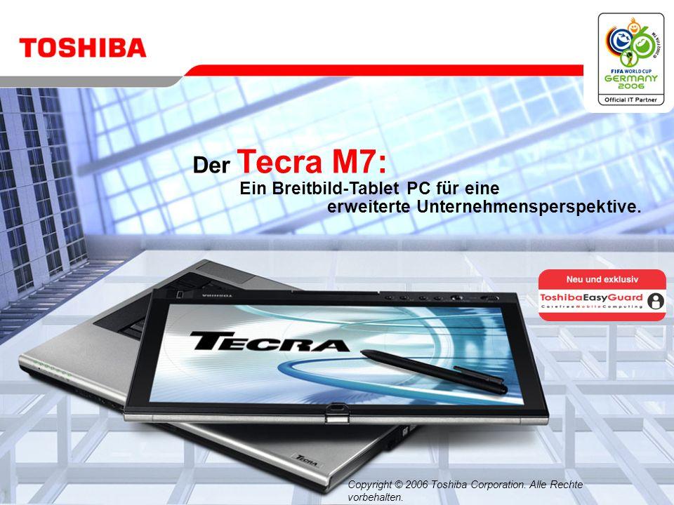 Der Tecra M7: Ein Breitbild-Tablet PC für eine