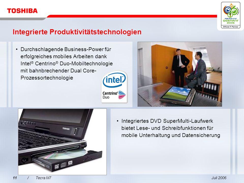 Integrierte Produktivitätstechnologien