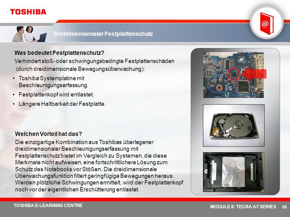 Dreidimensionaler Festplattenschutz