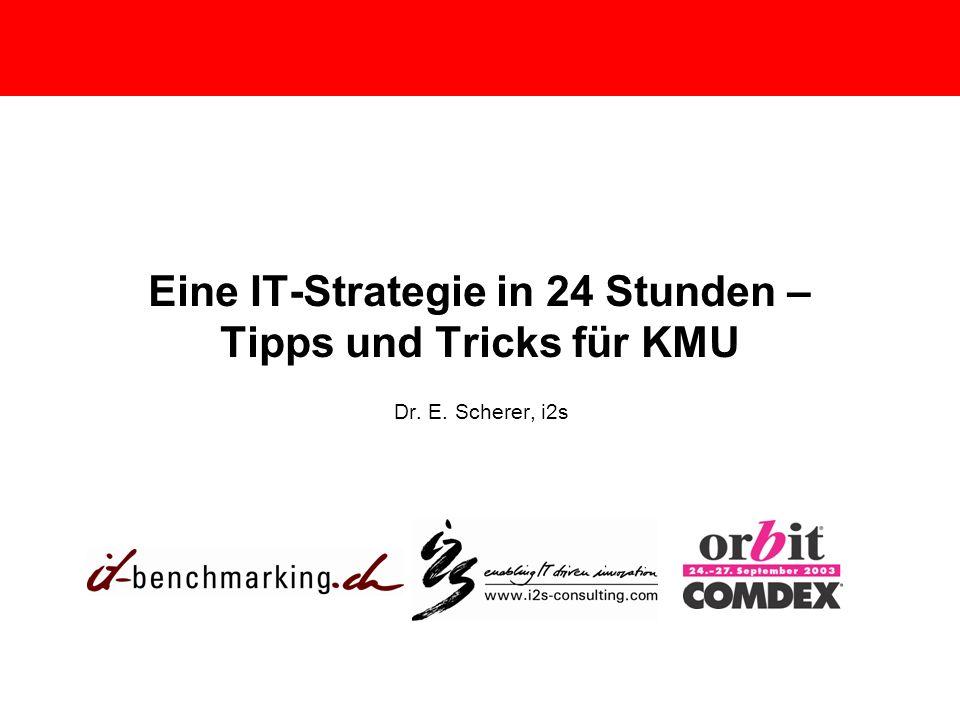 Eine IT-Strategie in 24 Stunden – Tipps und Tricks für KMU
